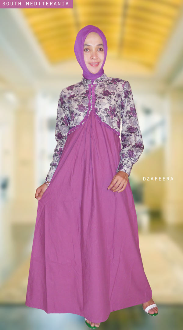 26 Gamis Katun #South Mediterania