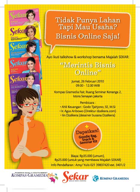 majalahsekar senayan Advertising